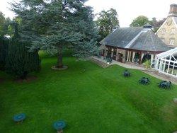 Beautifully established rear garden