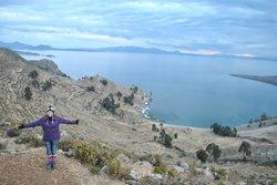 Vista do Hostal Isla del Sol