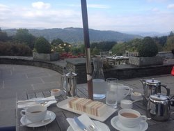Afternoon Tea at Linthwaite House Hotel