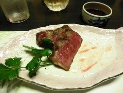 宿が自信を持っているお肉です。美味しかった!