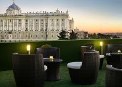 Terraza Rooftop Jardines de Sabatini