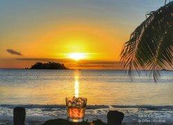 Sunset at Tropica Resort Malolo Island