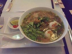 Hu Tieu (Saigon noodle soup)