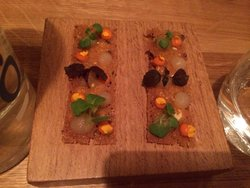 Part of first course