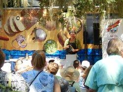 Cooking demo - Shrimp & Grits Festival