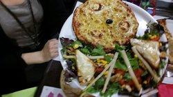 Formule salade + pizza + boisson à 12€