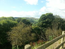 Lovely view in the Hope valley