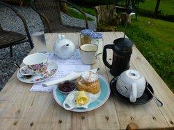 The Secret Garden Tea Room.