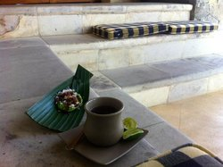 traditional balinese afternoon tea, inspirational...