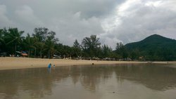 Kamala beach outside sunwing resort Aug 2014. Clean