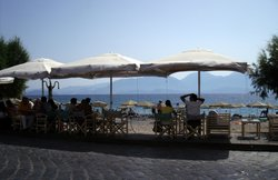 View of Beach Front Seating