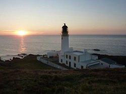 Sunset at Rua Reidh Lighthouse