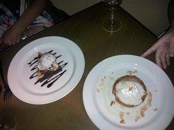 Banana Cream Pie and Brownie