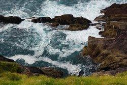 view on cliff walk near Gorman's