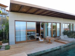 Beautiful MO junior suite terrace with private pool