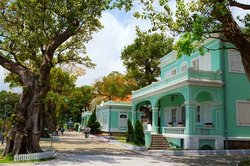 Taipa Houses-Museum – colourful colonial buildings with Macanese architectural characteristics. (111738118)