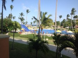 View from our room!