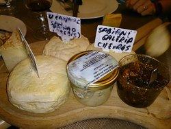 Plateau de fromage Corse & sa confiture de figue.
