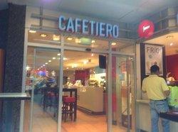 Cafetiero im Hauptbahnhof