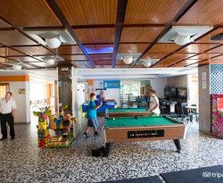 Game Room at the Gran Hotel Don Juan