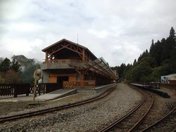 Alishan Forest Railway Garage Park