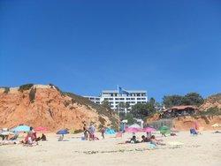 Hotel od strony plaży