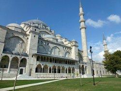 Süleymaniye-Moschee Gesamtansicht von Nordosten