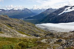 Harding Ice Field Trail