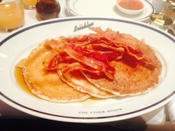 Pancakes and Crispy Bacon
