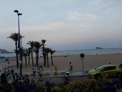 Vistas playa de Poniente