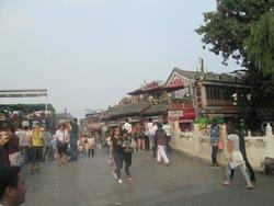 北京什刹海茶艺酒吧街