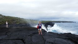 Coastal Lava Cliff Walk