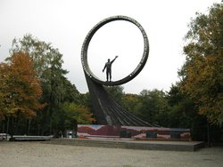 Monument to Countrymen-Cosmonauts