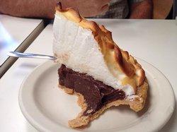 The chocolate pie
