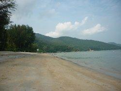 Batu Ferringhi Beach from the Holiday Inn