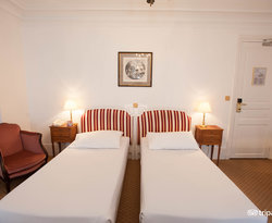 The Superior Room at the Normandy Hotel