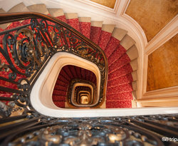 Stairs at the Normandy Hotel