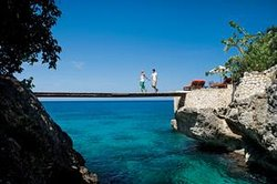 Romantic stroll at The Caves, Negril (112500110)