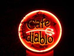 Cafe Diablo at night