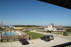 Motel Room View, parking lot side