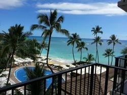 View from Halekulani hotel room