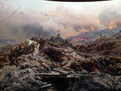 Sapun Mountain Assault Diorama