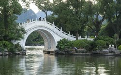 Near Guilin lake area
