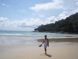 A stroll along Karon Beach.