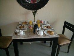 Romantic Breakfast in the room