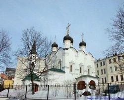 St Vladimir's Church in Staryh Sadekh