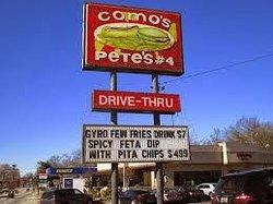 Como's Pete's
