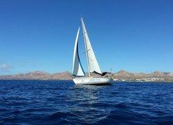 Sailing Tour Lanzarote.
