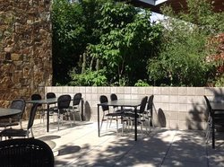 Lovely outdoor seating