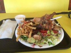 Pollo a la Brasa- Peruvian Wood Rotisserie Chicken